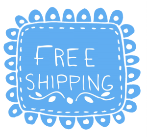 Free Shipping On Orders $25 and Over