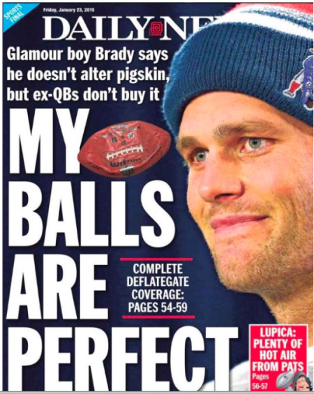Tom Brady Daily New Cover