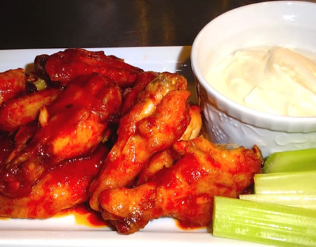 Red Hot Pepper Jam Buffalo Chicken Wings