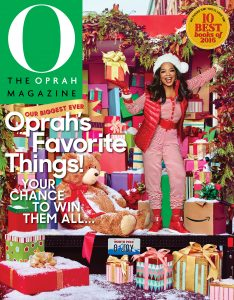 Oprah's Favorite Things 2016 Cover