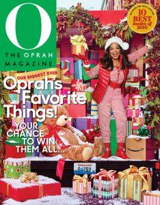 Oprah's Favorite Things 2016 Cover